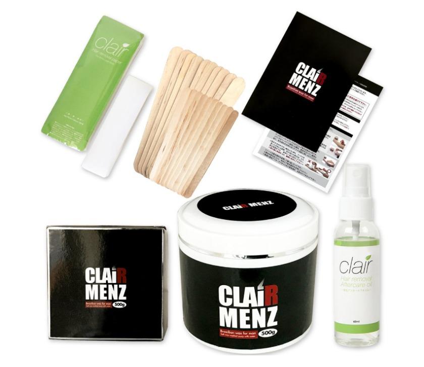 clair Menz wax 初めてのブラジリアンワックス スターターキット