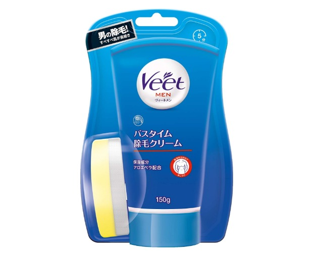 Veet Menバスタイム除毛クリーム敏感肌用