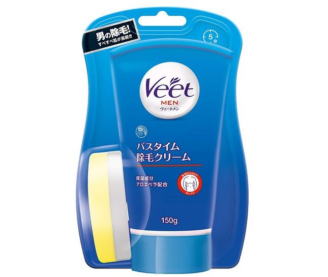 レキッドベンキーザー Veet Men バスタイム除毛クリーム 敏感肌用