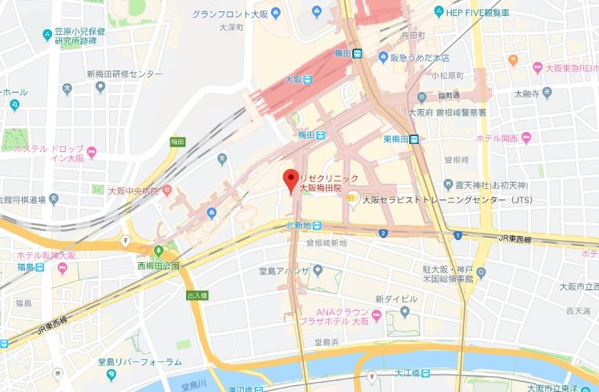 メンズリゼ 大阪梅田