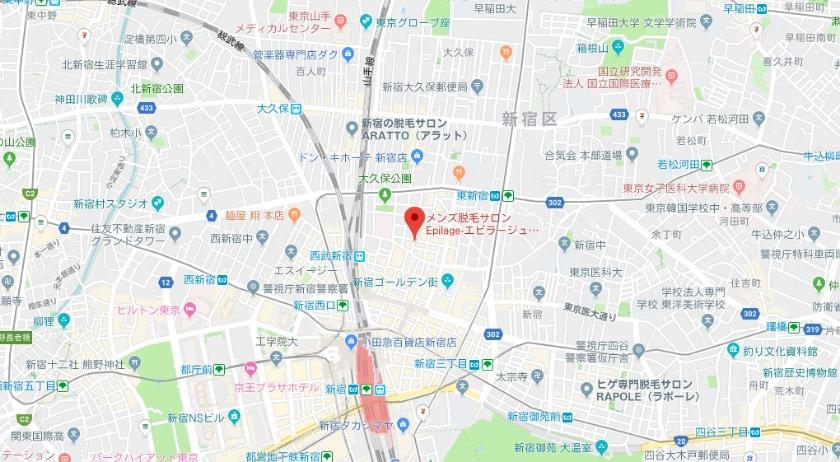 Epilage(エピラージュ) 東京新宿歌舞伎町店