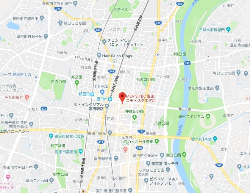 メンズTBC 豊田コモ・スクエア店