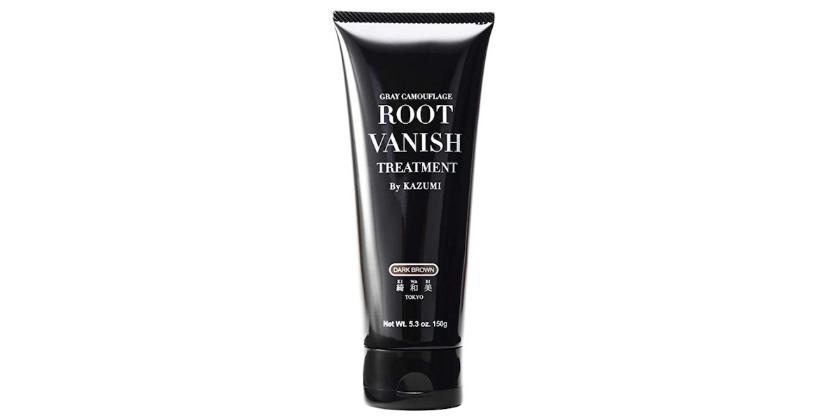 Root Vanish 白髪染め (ブラック) ヘアカラートリートメント