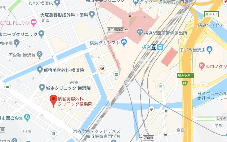 渋谷美容外科クリニック横浜院