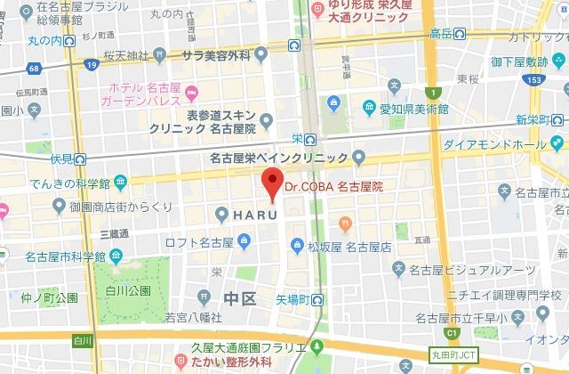 ドクターコバ 名古屋院 MAP