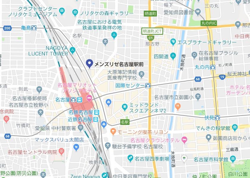 メンズリゼ 名古屋駅前
