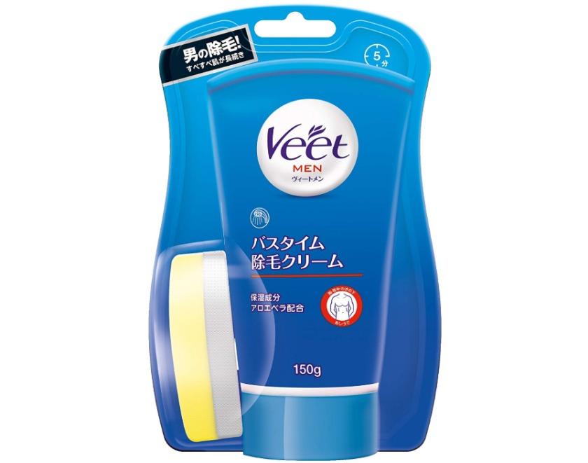 Veet Men バスタイム除毛クリーム 敏感肌用