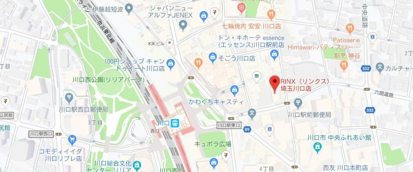 RINX 埼玉川口店の基本情報
