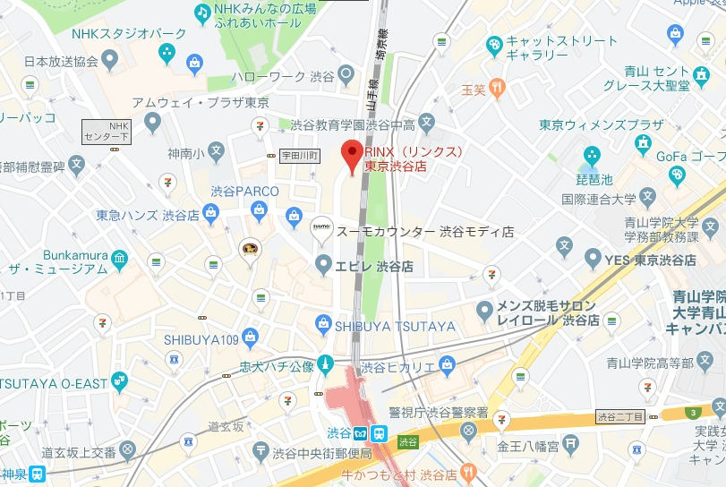 リンクス東京渋谷店