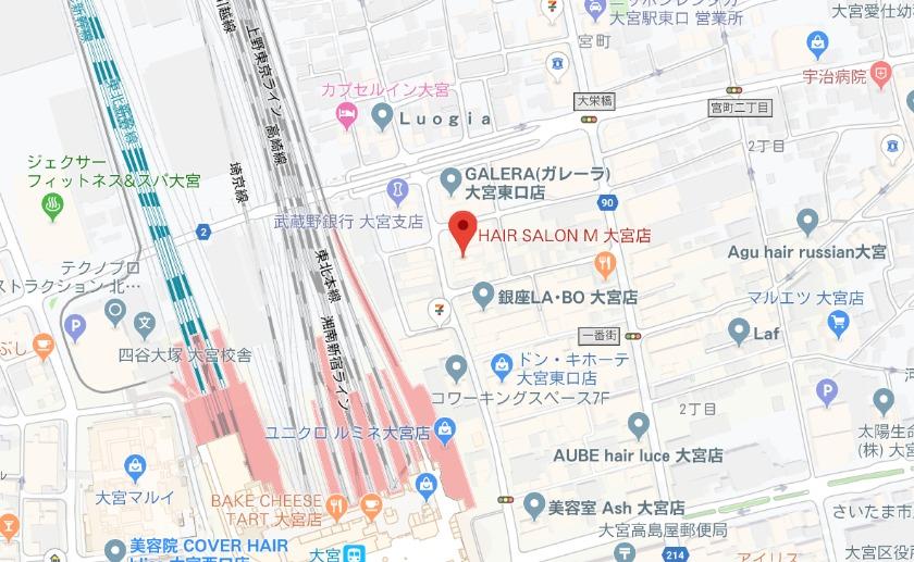 HAIR SALON M 大宮店
