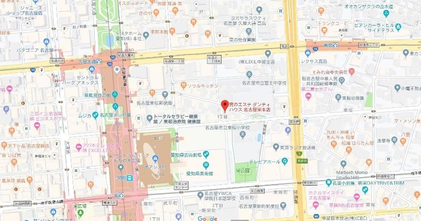 ダンディハウス 名古屋栄本店