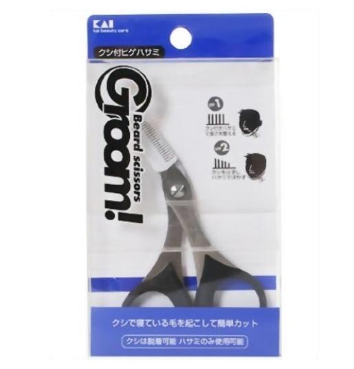 Groom(グルーム) クシ付ヒゲハサミ