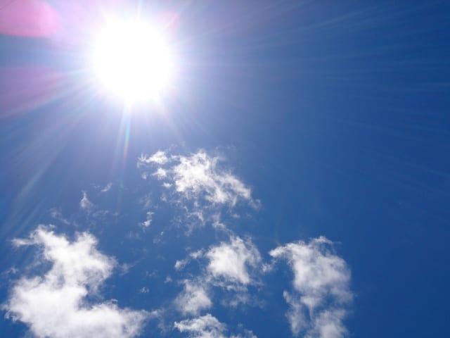 日焼けに気をつける