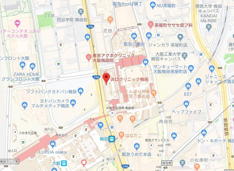 メンズTBC 梅田本店
