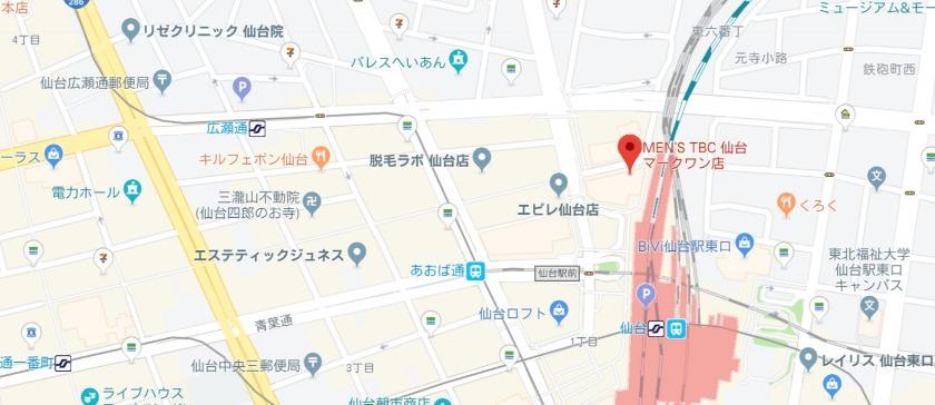 メンズTBC 仙台マークワン店