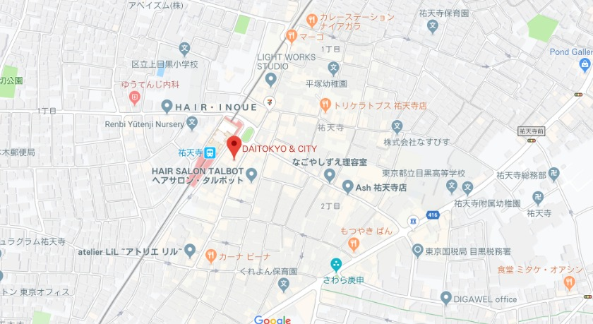 Men's大東京