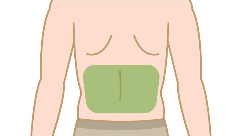 腰に毛が生える理由や原因について