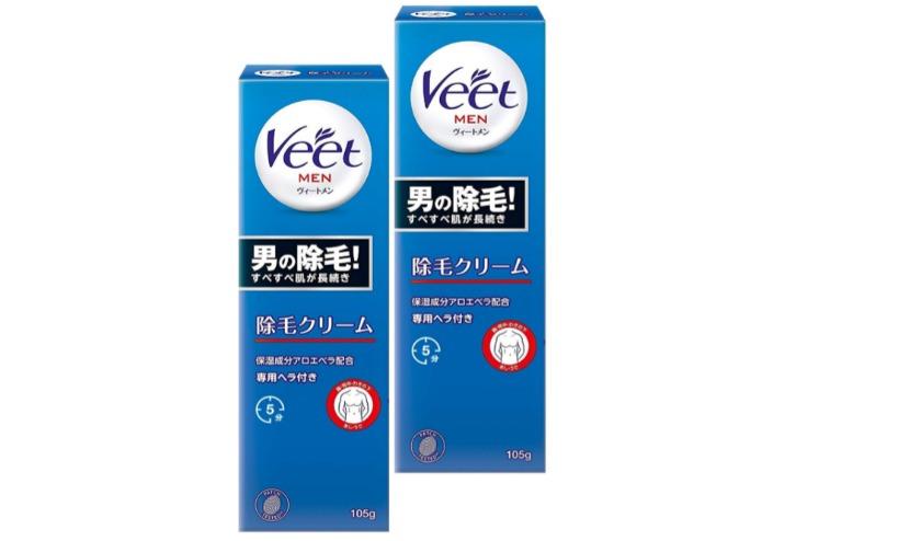 Veet MEN (ヴィートメン) 除毛クリーム 敏感肌用