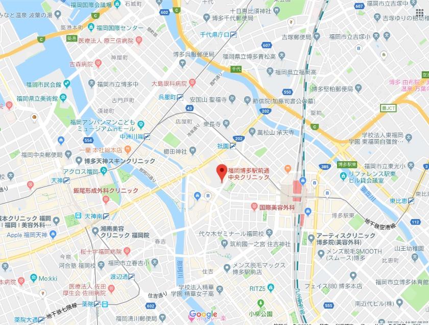 福岡博多駅前通中央クリニック
