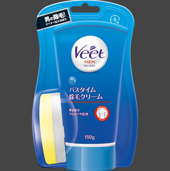 Veet MEN (ヴィートメン) バスタイム除毛クリーム