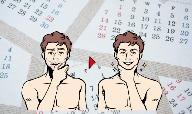 メンズリゼの全身脱毛に必要な回数と期間