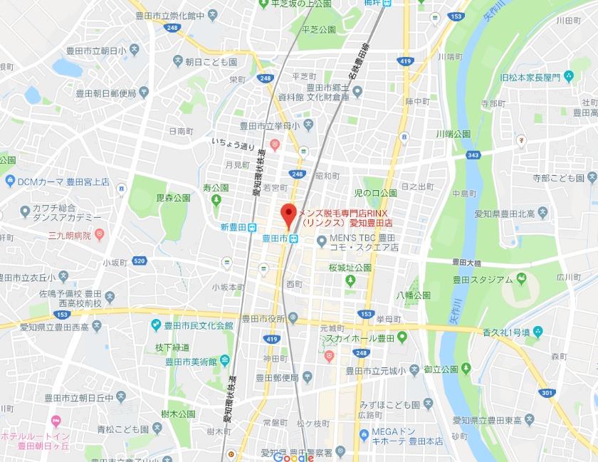 メンズ脱毛専門店RINX(リンクス)愛知豊田店