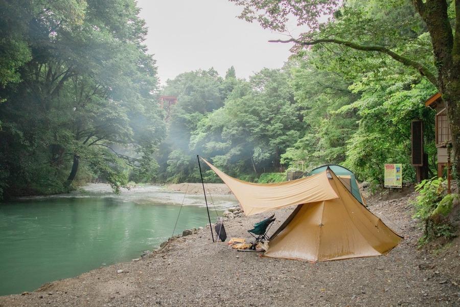 青根キャンプ場は川遊びや釣りも楽しめる!徒歩で行ける温泉も魅力的
