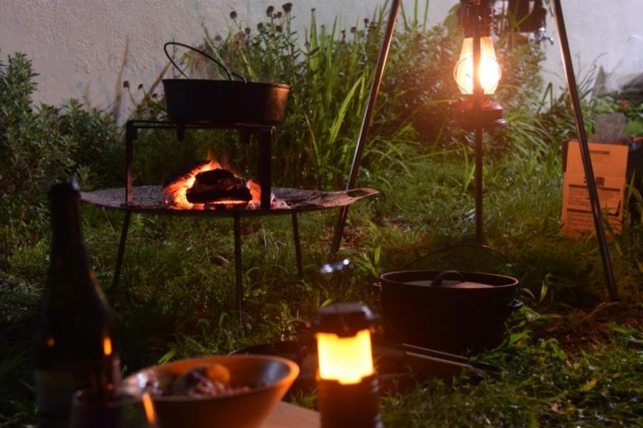 DOD「ビッグファイアクレードル」が人気!焚き火台としても使えて便利