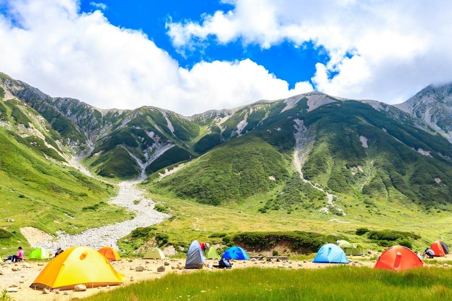 初心者にもおすすめのテント場紹介!快適にテント泊を楽しめる場所ばかり