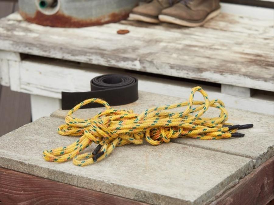 【ロープワーク】自在結びのやり方!キャンプで役立つ結び方をマスター
