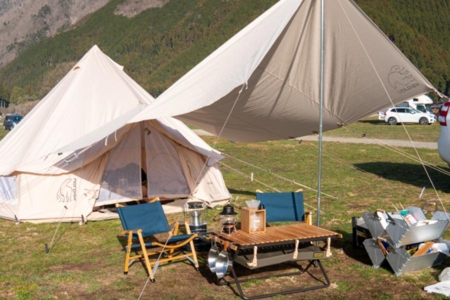 自作テント・タープでキャンプを楽しもう!オリジナル用品でキャンプを満喫