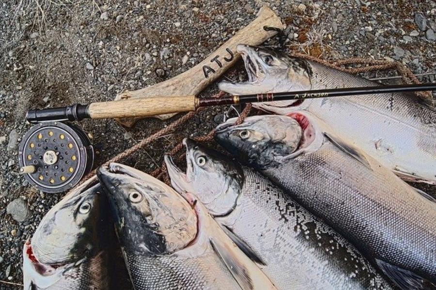 鮭釣りの基本知識と魅力!必要な道具と釣れる仕掛けの作り方は?