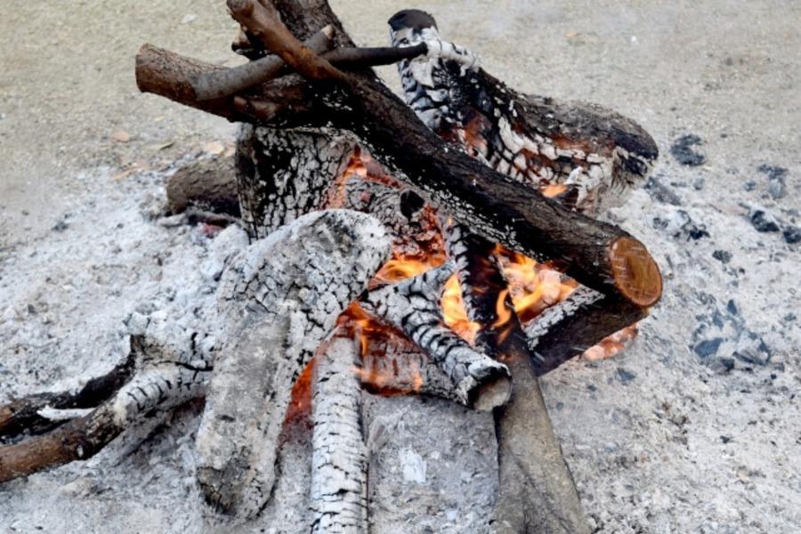 焚き火を成功させる薪の組み方・選び方を伝授!おすすめの種類は?