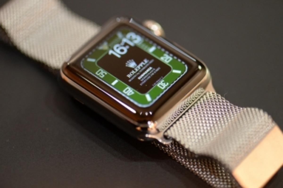 アップルウォッチの文字盤画面をロレックスにする方法 5つの手順ですぐ変更 Richwatch