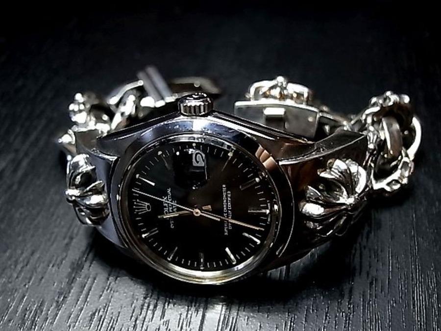 ロレックス×クロムハーツのコラボ時計を紹介