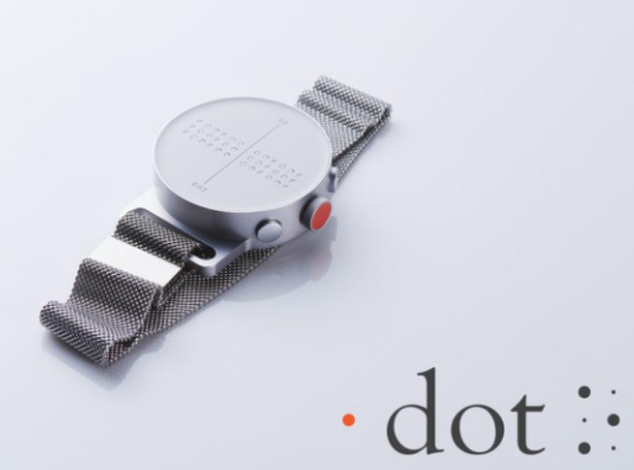 """""""点""""で時刻をお知らせ!Dot Watch(ドットウォッチ)の新たな世界観"""