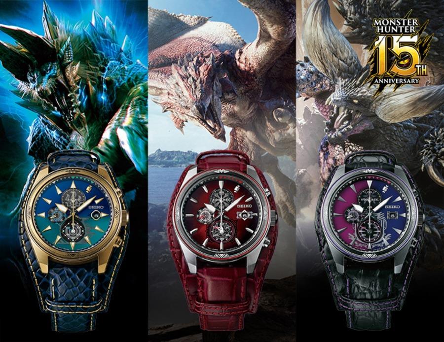 モンハンのコラボ腕時計4選!特徴と値段、口コミも!【2021年最新】
