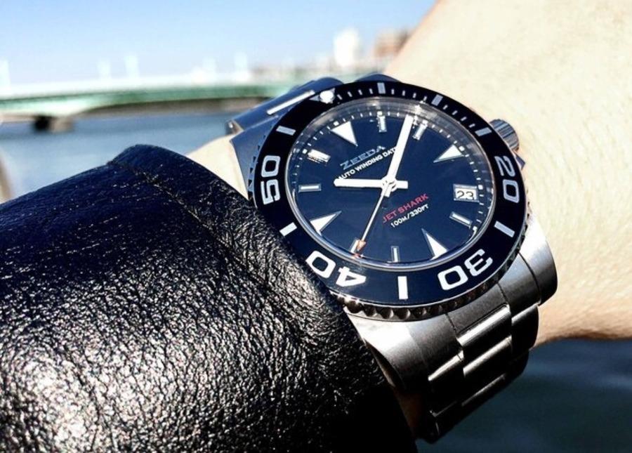 ZEEDA(ジーダ) で始める機械式時計!優れたデザイン&コスパのダイバースタイルウォッチ