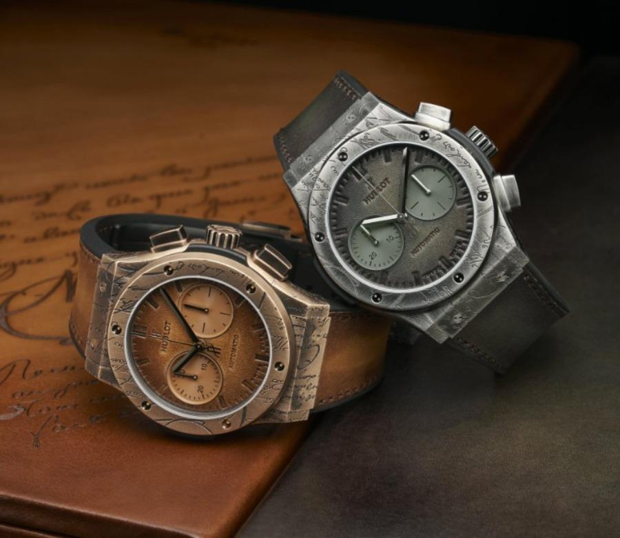 ウブロ(HUBLOT)とベルルッティのコラボ時計の中古販売・買取相場を調査!【2021年最新】