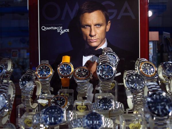 映画007でジェームズボンドモデルの歴代腕時計を紹介!ロレックスからオメガまで!