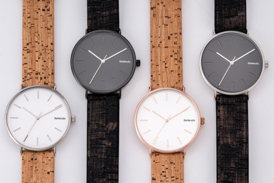 わずか38gの軽さ!コルクレザーの腕時計BeVenutoを紹介