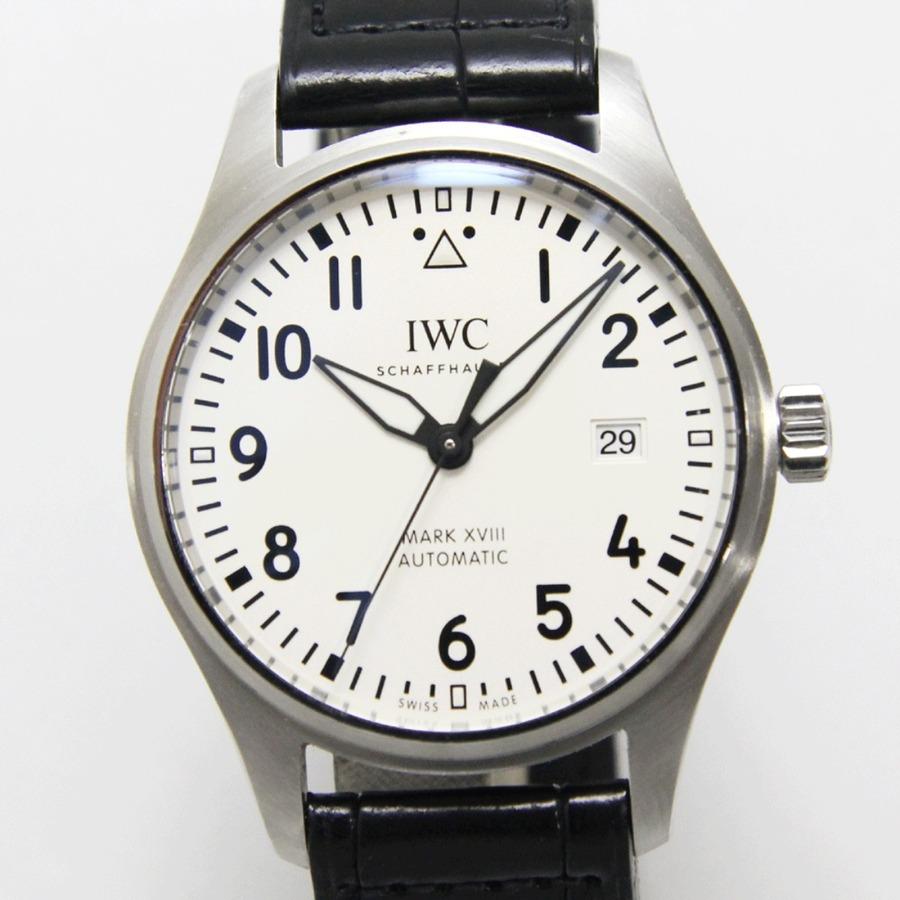 IWCのマーク18はどんな時計?マーク18の評価や精度についても調査してみた!