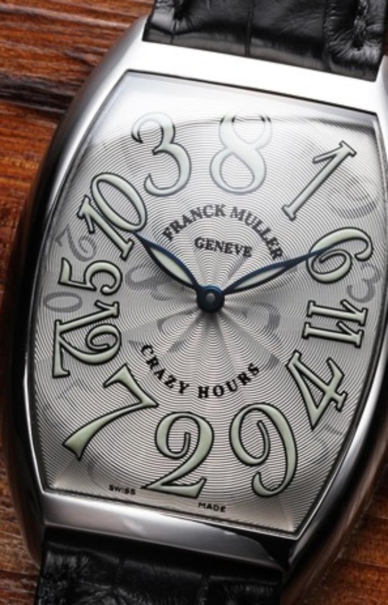 クレイジーアワーズ(フランクミュラー)の意味や時計の仕組みは?一番安いモデルはどれ?