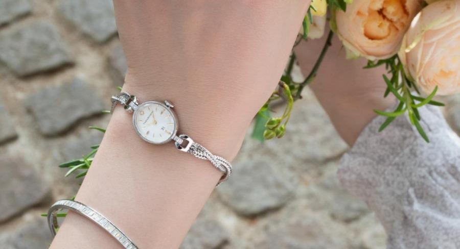"""大人の魅力を引き立てる!丁寧に作りこまれた腕時計""""Time&Bouquet"""""""