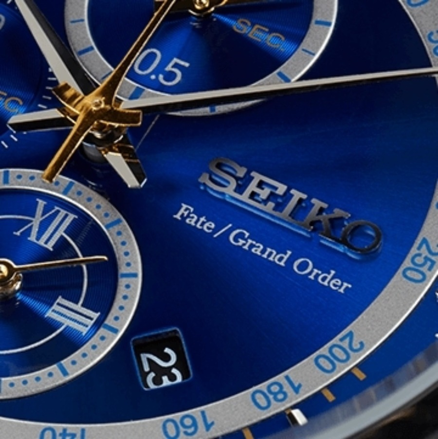 FGOの腕時計(SEIKO)人気コラボ5選!価格と口コミも!【2021年最新】