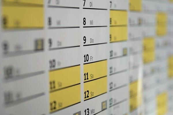 Excelのテンプレートでカレンダー作成も楽々!実際の作成方法をご紹介