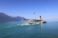 レマン湖(スイス)の見どころ!湖畔の小さな家や噴水などを紹介
