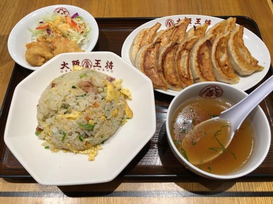 大阪王将のランチのおすすめメニュー!日替わり定食やセットの値段も紹介