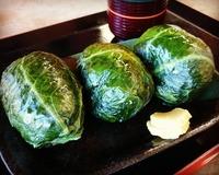めはりずし(寿司)とは熊野の郷土料理!和歌山の二代目などお店を紹介