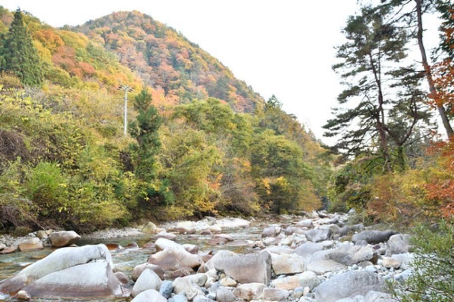 柿其渓谷(南木曽)の見どころ!美しい滝・紅葉ハイキングも紹介